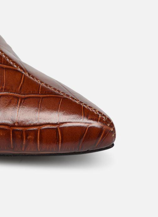 Stivaletti e tronchetti Made by SARENZA Soft Folk Boots #12 Marrone immagine sinistra