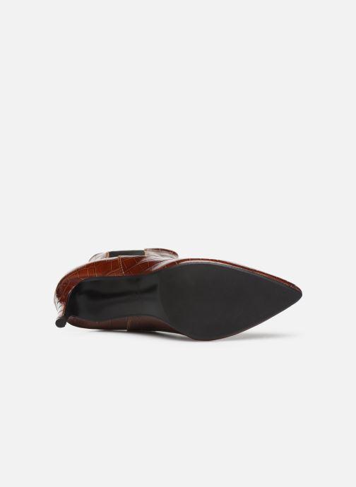 Stivaletti e tronchetti Made by SARENZA Soft Folk Boots #12 Marrone immagine dall'alto