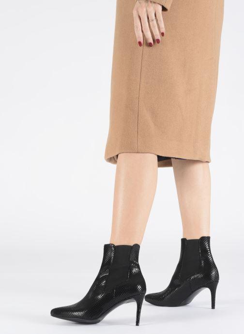 Bottines et boots Made by SARENZA Soft Folk Boots #12 Noir vue bas / vue portée sac