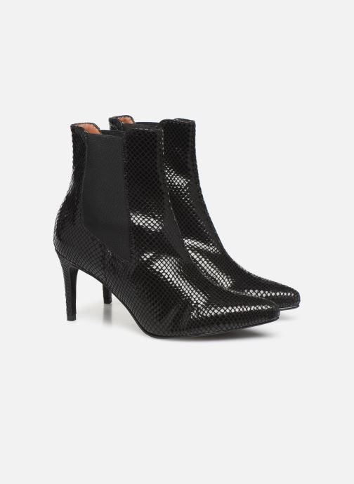 Botines  Made by SARENZA Soft Folk Boots #12 Negro vistra trasera