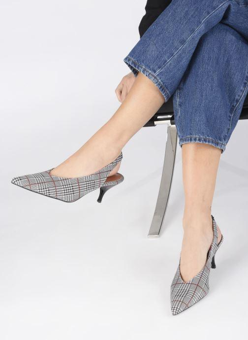 Escarpins Made by SARENZA Riviera Couture Escarpin #3 Gris vue bas / vue portée sac