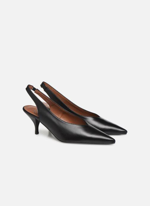 Zapatos de tacón Made by SARENZA Riviera Couture Escarpin #3 Negro vistra trasera