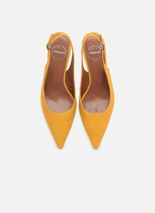 Escarpins Made by SARENZA Riviera Couture Escarpin #3 Jaune vue portées chaussures