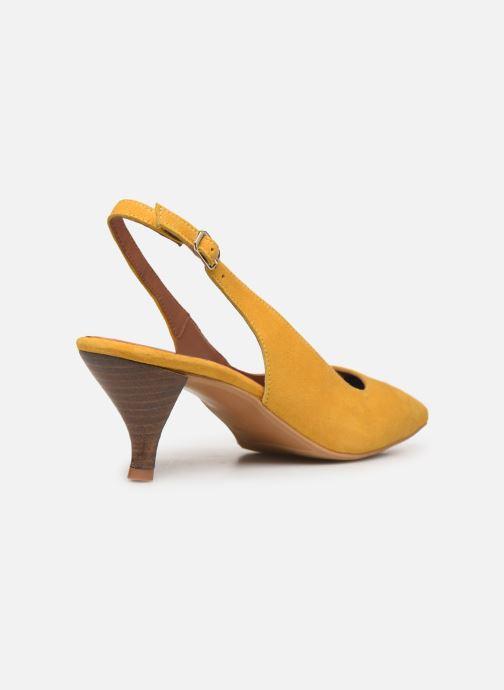 Zapatos de tacón Made by SARENZA Riviera Couture Escarpin #3 Amarillo vista de frente