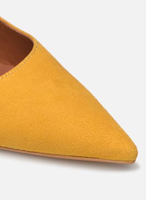 Zapatos de tacón Made by SARENZA Riviera Couture Escarpin #3 Amarillo vista lateral izquierda