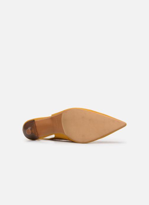 Zapatos de tacón Made by SARENZA Riviera Couture Escarpin #3 Amarillo vista de arriba