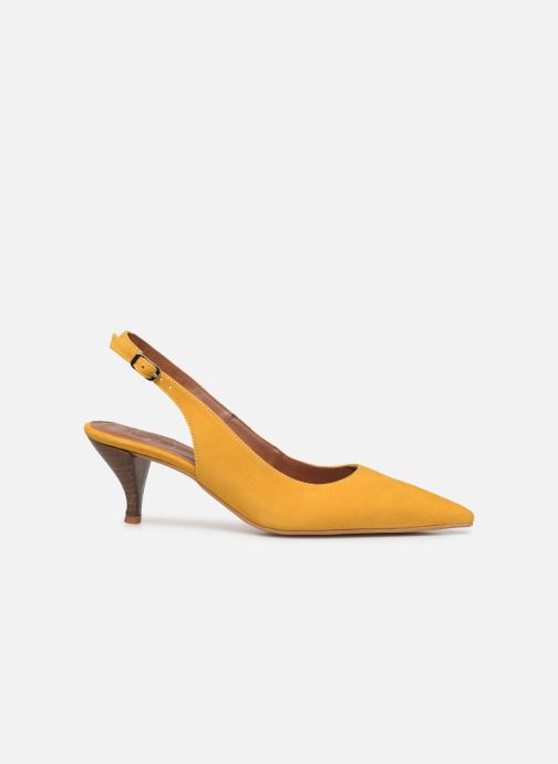 Escarpins Made by SARENZA Riviera Couture Escarpin #3 Jaune vue détail/paire