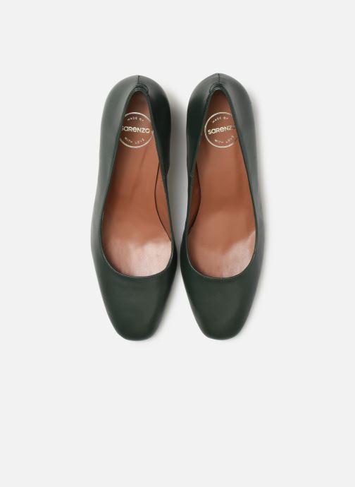 Escarpins Made by SARENZA Retro Dandy Escarpin #1 Vert vue portées chaussures