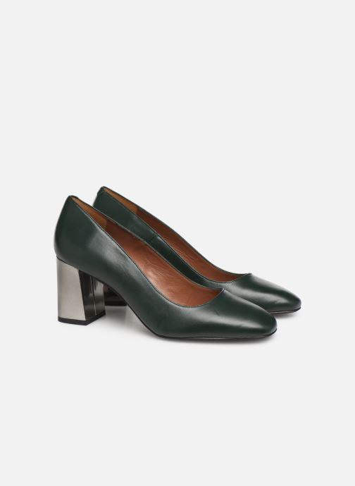 Zapatos de tacón Made by SARENZA Retro Dandy Escarpin #1 Verde vistra trasera
