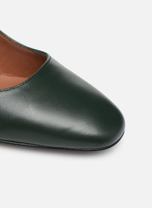 Zapatos de tacón Made by SARENZA Retro Dandy Escarpin #1 Verde vista lateral izquierda