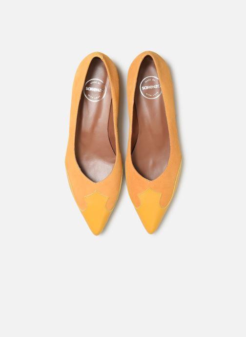 Ballerines Made by SARENZA Soft Folk Ballerine #1 Jaune vue portées chaussures