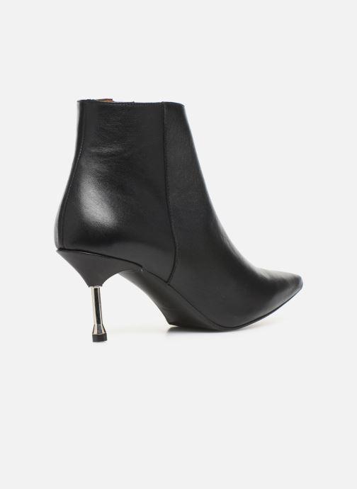 Bottines et boots Made by SARENZA Night Rock boots #2 Noir vue face