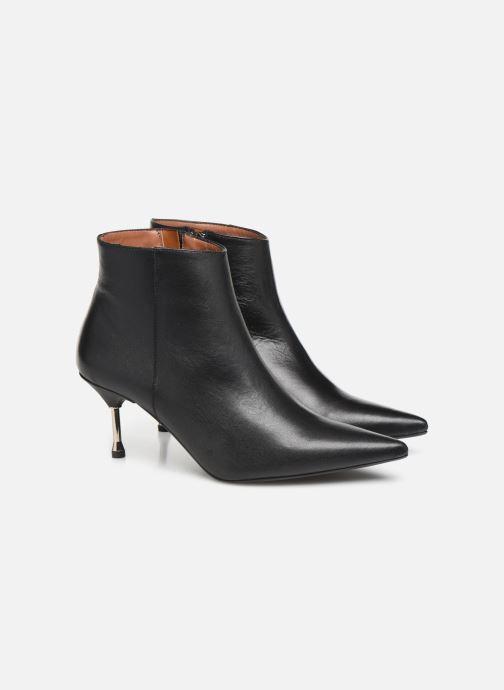 Botines  Made by SARENZA Night Rock boots #2 Negro vistra trasera