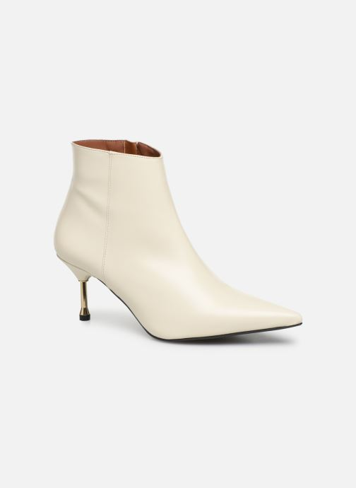 Bottines et boots Made by SARENZA Night Rock boots #2 Blanc vue droite