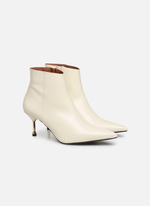 Bottines et boots Made by SARENZA Night Rock boots #2 Blanc vue derrière