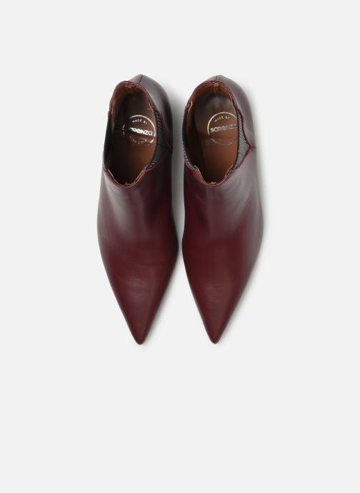 Bottines et boots Made by SARENZA Retro Dandy Boots #8 Bordeaux vue portées chaussures
