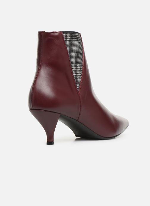 Botines  Made by SARENZA Retro Dandy Boots #8 Vino vista de frente