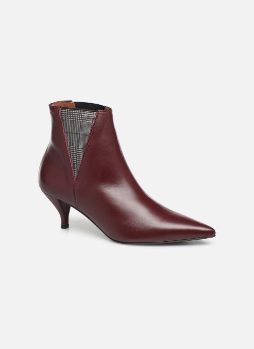 Bottines et boots Made by SARENZA Retro Dandy Boots #8 Bordeaux vue droite