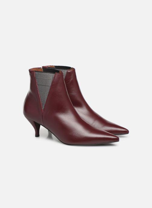 Bottines et boots Made by SARENZA Retro Dandy Boots #8 Bordeaux vue derrière