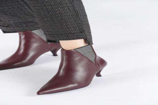 Bottines et boots Made by SARENZA Retro Dandy Boots #8 Noir vue bas / vue portée sac