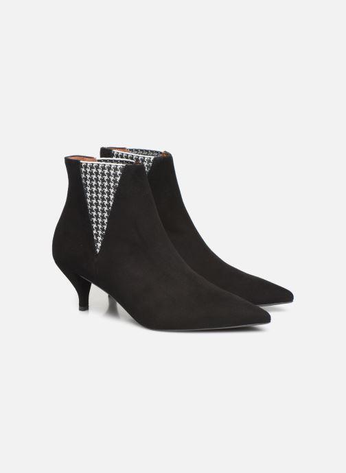 Bottines et boots Made by SARENZA Retro Dandy Boots #8 Noir vue derrière