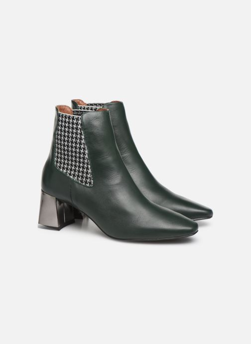 Bottines et boots Made by SARENZA Retro Dandy Boots #2 Vert vue derrière