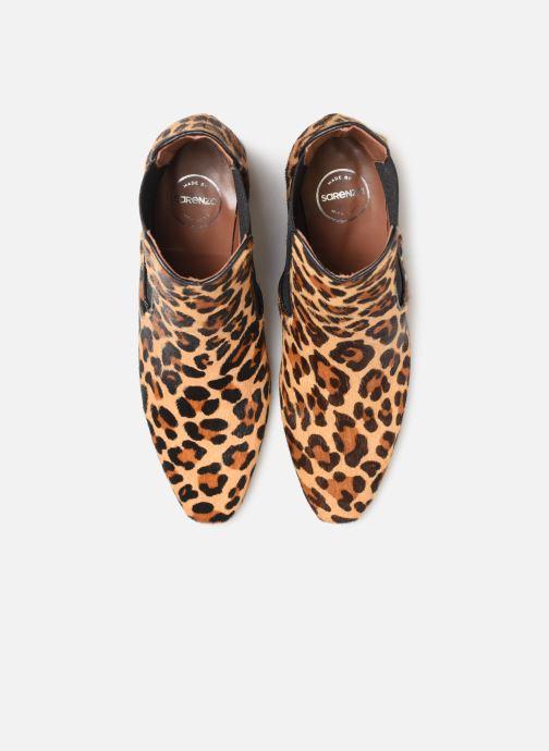 Stivaletti e tronchetti Made by SARENZA Retro Dandy Boots #2 Marrone modello indossato