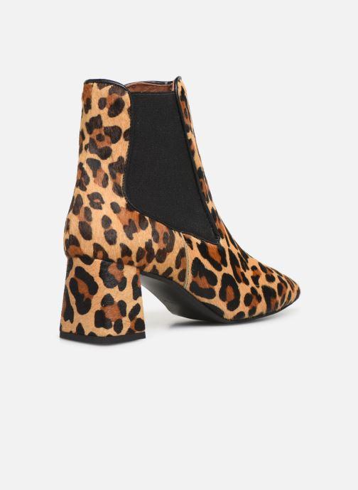 Stivaletti e tronchetti Made by SARENZA Retro Dandy Boots #2 Marrone immagine frontale
