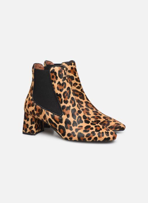 Bottines et boots Made by SARENZA Retro Dandy Boots #2 Marron vue derrière