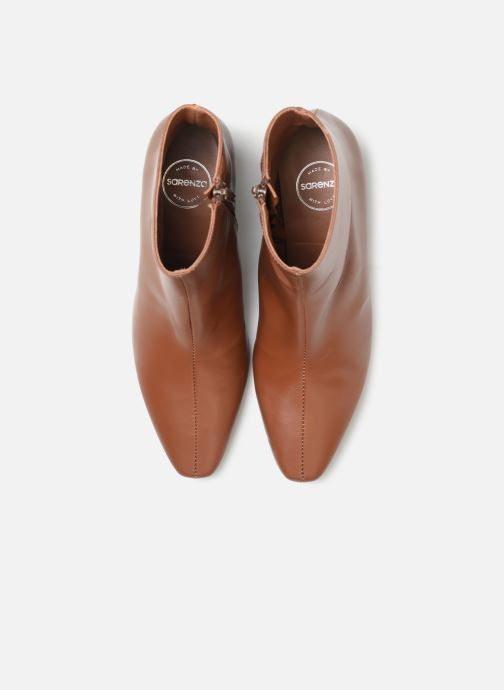 Bottines et boots Made by SARENZA Retro Dandy Boots #5 Marron vue portées chaussures