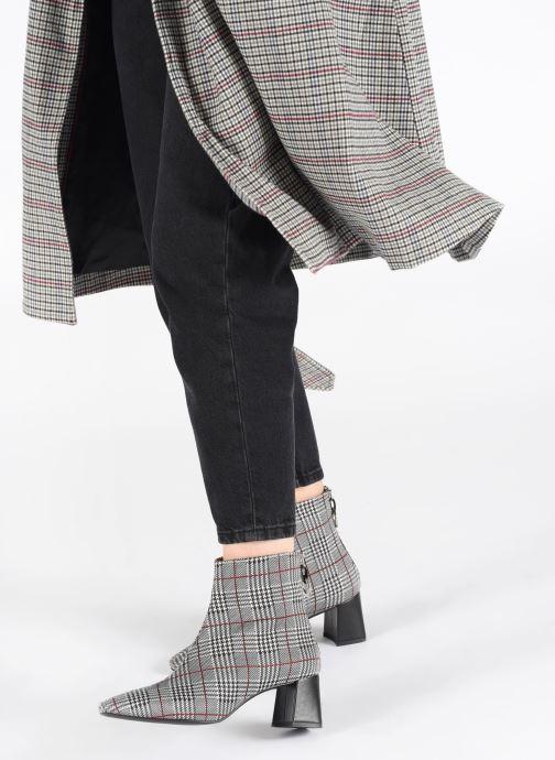 Bottines et boots Made by SARENZA Retro Dandy Boots #1 Gris vue bas / vue portée sac