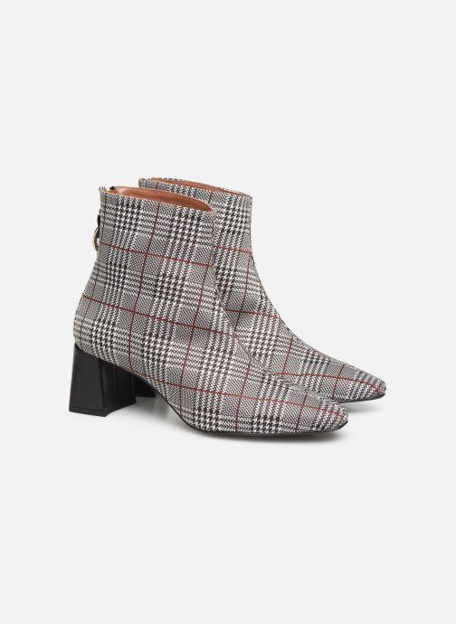 Bottines et boots Made by SARENZA Retro Dandy Boots #1 Gris vue derrière