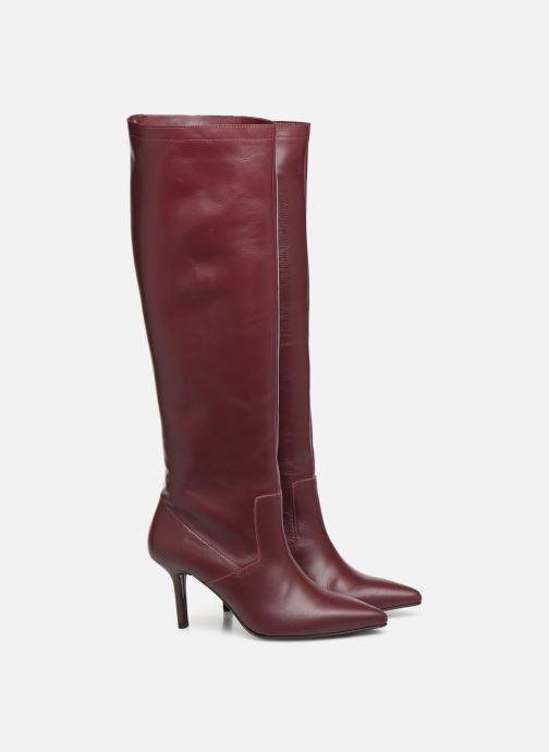 Støvler & gummistøvler Made by SARENZA retro dandy botte #3 Bordeaux se bagfra