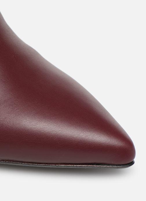 Stiefel Made by SARENZA retro dandy botte #3 weinrot ansicht von links