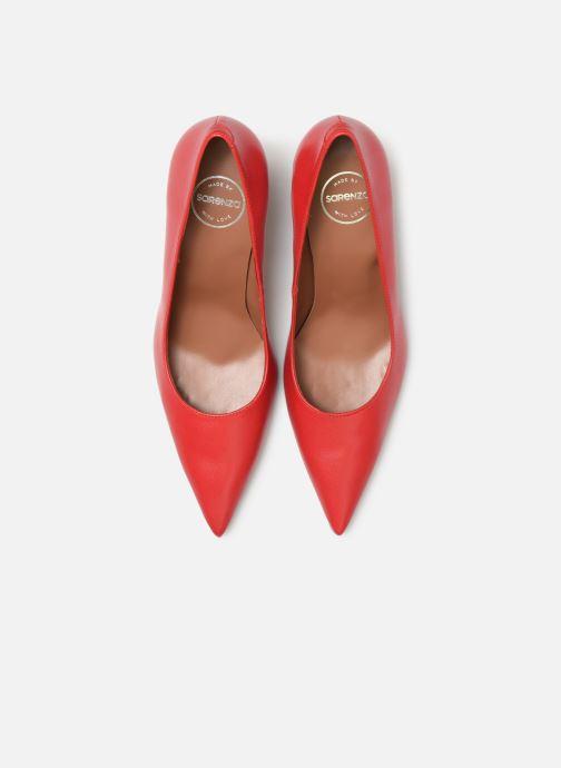 Escarpins Made by SARENZA Retro Dandy Escarpin #3 Rouge vue portées chaussures