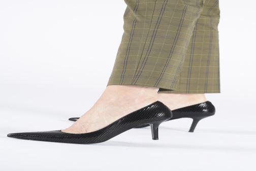 Zapatos de tacón Made by SARENZA Retro Dandy Escarpin #3 Negro vista de abajo