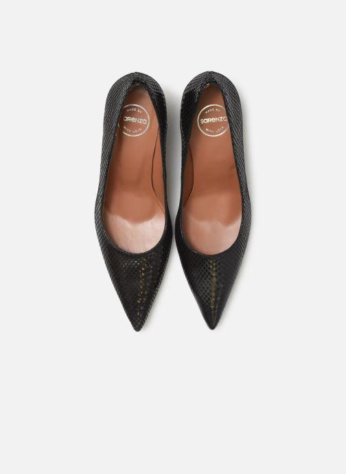 High heels Made by SARENZA Retro Dandy Escarpin #3 Black model view