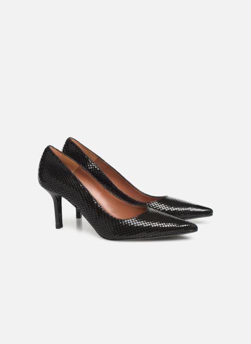 High heels Made by SARENZA Retro Dandy Escarpin #3 Black back view