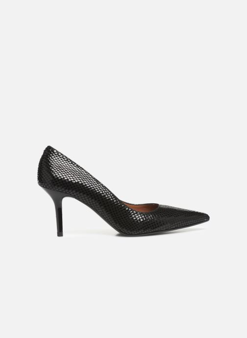 High heels Made by SARENZA Retro Dandy Escarpin #3 Black detailed view/ Pair view