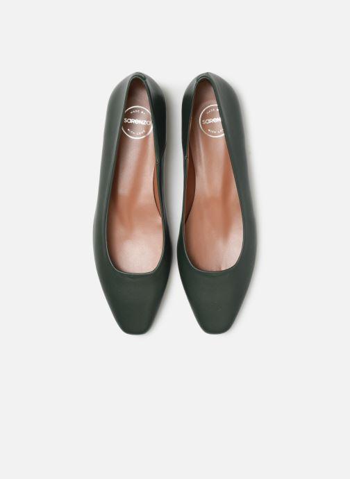 Ballerines Made by SARENZA Retro Dandy Ballerine #1 Vert vue portées chaussures