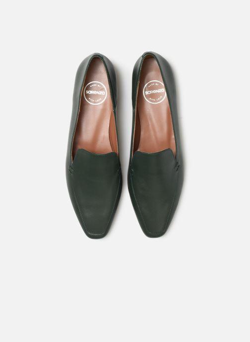 Mocassins Made by SARENZA Retro Dandy Mocassin #1 Vert vue portées chaussures