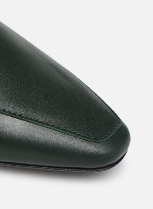 Slipper Made by SARENZA Retro Dandy Mocassin #1 grün ansicht von links