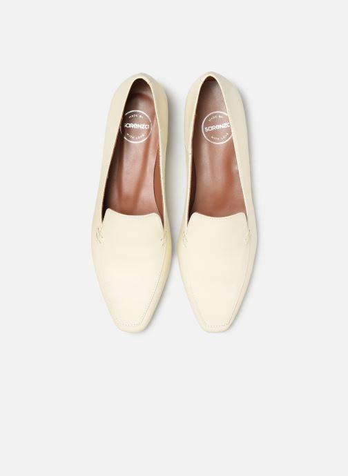 Mocasines Made by SARENZA Retro Dandy Mocassin #1 Blanco vista del modelo