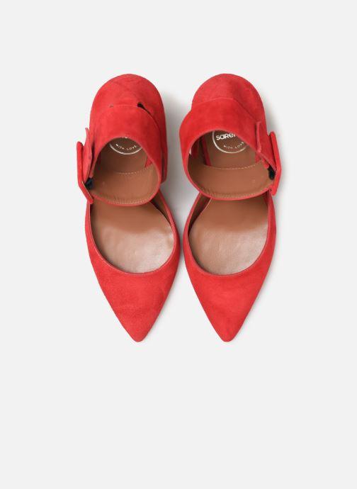 Escarpins Made by SARENZA Night Rock Escarpins #3 Rouge vue portées chaussures