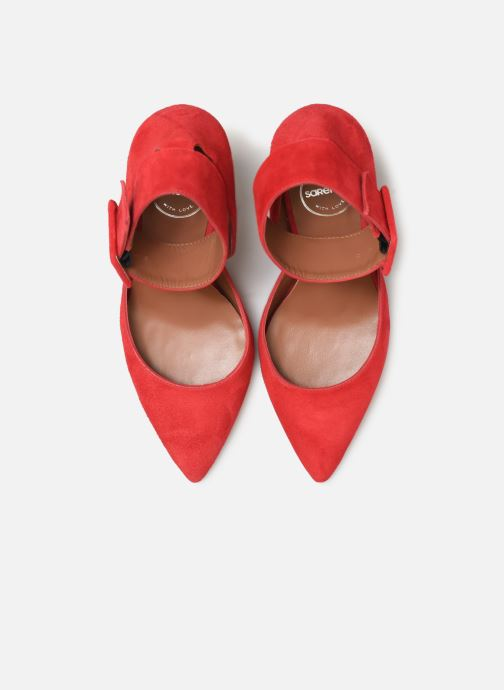 Décolleté Made by SARENZA Night Rock Escarpins #3 Rosso modello indossato