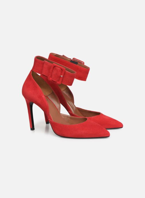 Zapatos de tacón Made by SARENZA Night Rock Escarpins #3 Rojo vistra trasera