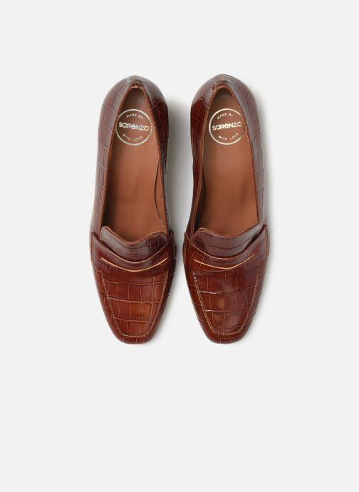 Mocassins Made by SARENZA Retro Dandy Mocassin #2 Marron vue portées chaussures
