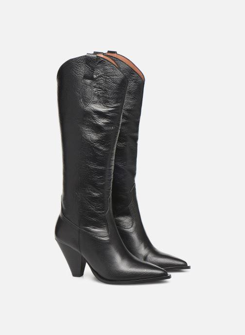 Laarzen Made by SARENZA Soft Folk Bottes #3 Zwart achterkant