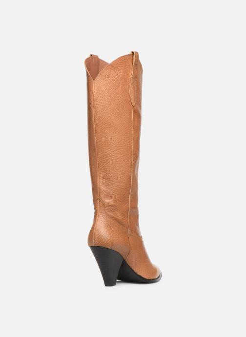Laarzen Made by SARENZA Soft Folk Bottes #3 Bruin voorkant