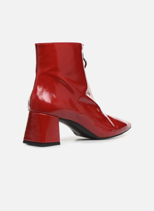 Stivaletti e tronchetti Made by SARENZA Night Rock boots #1 Rosso immagine frontale